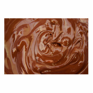 Chocolate Background Acrylic Cut Outs