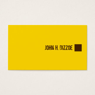Chocolate Banana Business Card