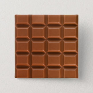Chocolate bar background badge