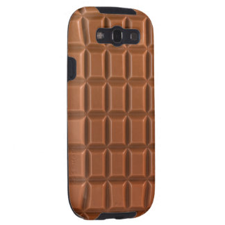 Chocolate bar background Galaxy S case Galaxy S3 Cover