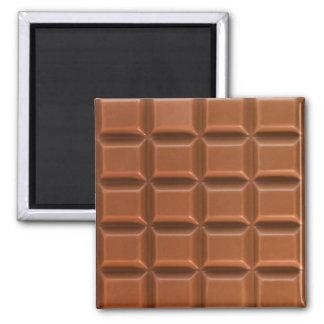 Chocolate bar background magnet