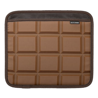 """Chocolate Bar"" custom iPad sleeve"