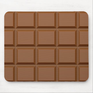 """Chocolate Bar"" custom mousepad"