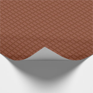 Chocolate Bar Design Wrapping Paper