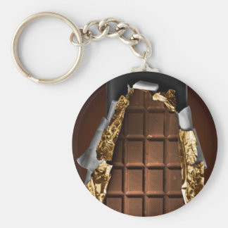 Chocolate Bar Key Ring