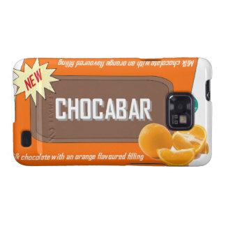 Chocolate bar (orange) galaxy s2 cases