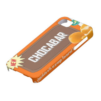 Chocolate bar (orange) case for the iPhone 5