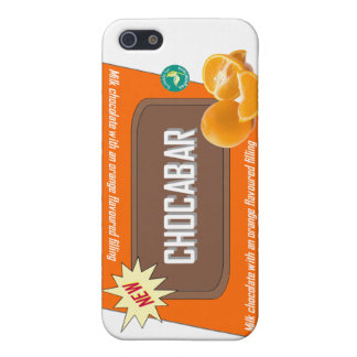 Chocolate bar orange case for the iPhone 5