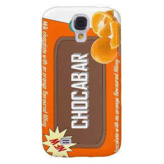 Chocolate bar (orange) galaxy s4 case