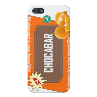 Chocolate bar (orange) iPhone 5 cover