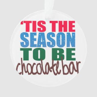Chocolate Bar Ornament