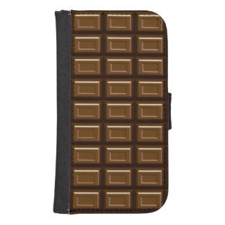 Chocolate Bar Samsung Galaxy S4 Wallet Case