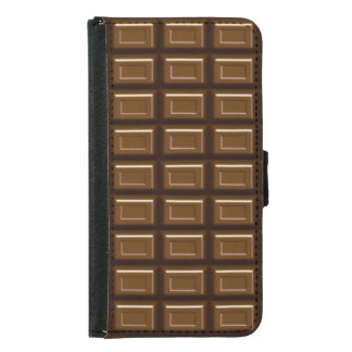 Chocolate Bar Samsung Galaxy S5 Wallet Case