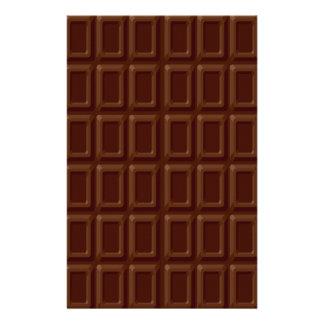 Chocolate Bar Set Stationery Paper