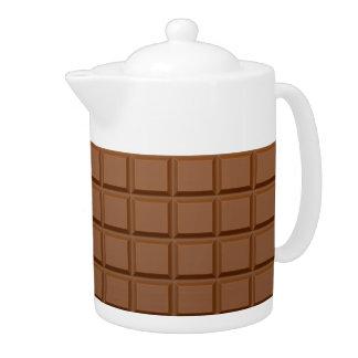 """""""Chocolate Bar"""" teapot"""