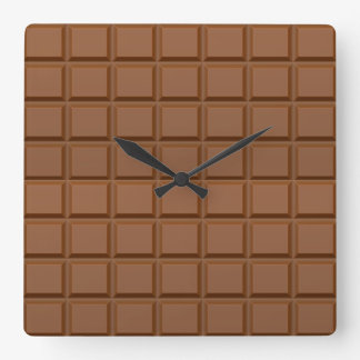 """Chocolate Bar"" wall clock"