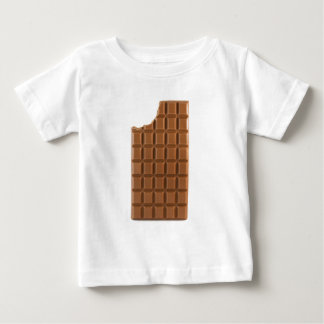 Chocolate bar with a missing bite T-shirt