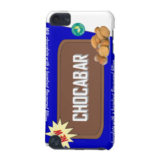 Chocolate bar with nuts iPod touch 5G cases