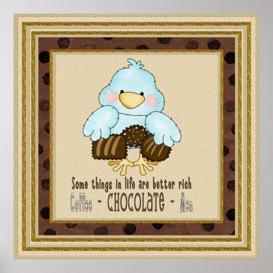 Chocolate Bird poster