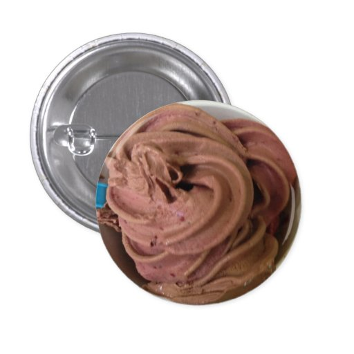 Chocolate Blackberry Froyo Button