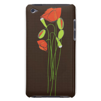 Chocolate Botanical Barely There iPod Case