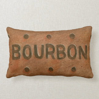Chocolate Bourbon Biscuit Throw Cushion