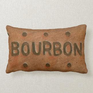 Chocolate Bourbon Biscuit Throw Cushion Throw Pillows