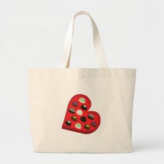 Chocolate Box Canvas Bags