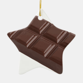 chocolate brick.png ceramic star decoration