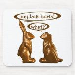 Chocolate bunnies mouse mat