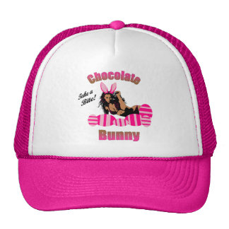 Chocolate Bunny Hat