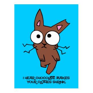 Chocolate Bunny Shrink Postcard