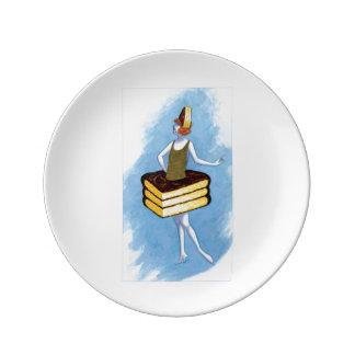 Chocolate Cake Plate
