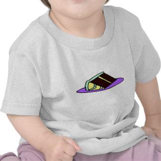 Chocolate Cake Slice T Shirts