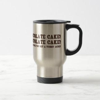 Chocolate Cake! Stainless Steel Travel Mug