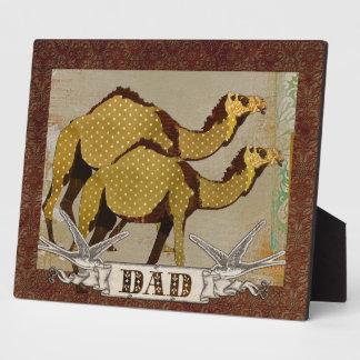 Chocolate Camels Dad Plaque