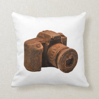 Chocolate Camera Pillow
