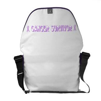 Chocolate Cancer Survivor Commuter Bag