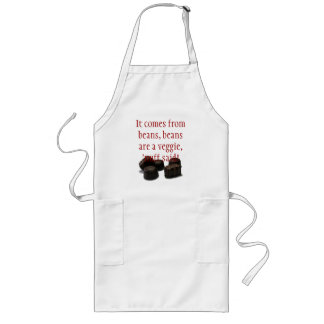 chocolate candy apron