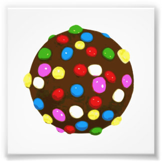 Chocolate Candy Color Ball Photo Print