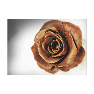 Chocolate Candy Rose Food Print Canvas Prints