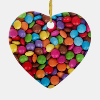 Chocolate Candy Sweets Ceramic Heart Decoration