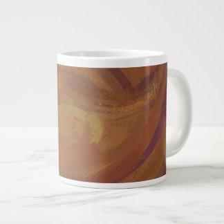 Chocolate Carmel Swirl Jumbo Mugs