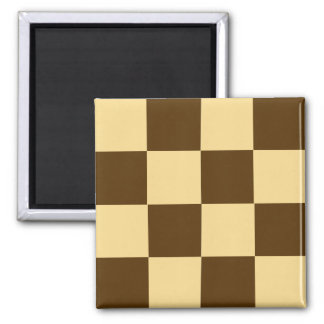 Chocolate Checkerboard Cookie Magnet