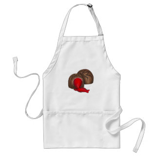 Chocolate Cherry Cordial Valentine Candy Apron