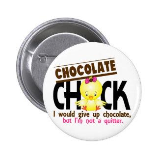 Chocolate Chick 1 6 Cm Round Badge