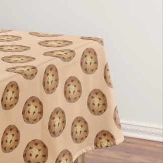 Chocolate Chip Cookie Bakery Food Dessert Sweet Tablecloth