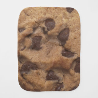 Chocolate Chip Cookie Burp Cloth