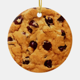 Chocolate Chip Cookie Christmas Ornament