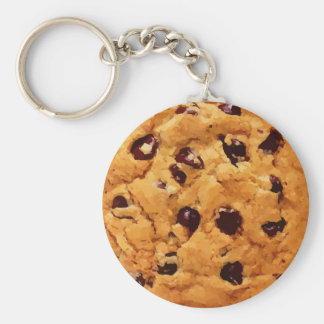 Chocolate Chip Cookie Key Ring